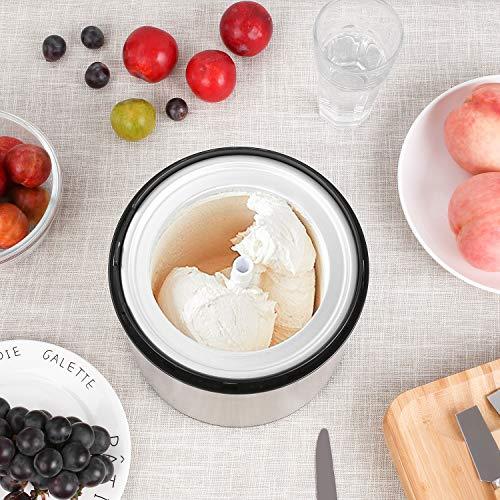 Ice Cream Maker-MVPower 2.1Quart Frozen Yogurt & Sorbet Maker Machine,12W. by Mvpower (Image #4)