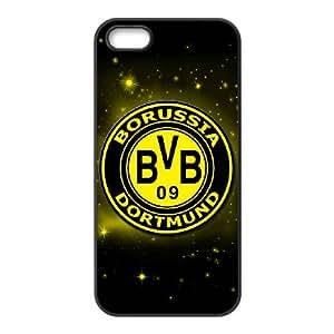 IPhone 5,5S Phone Case for Classic theme Borussia Dortmund BVB 09 Logo pattern design GCTBDBVB841043
