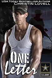 One Letter: (BBW Military Romance) (One Soldier Series Book 1)