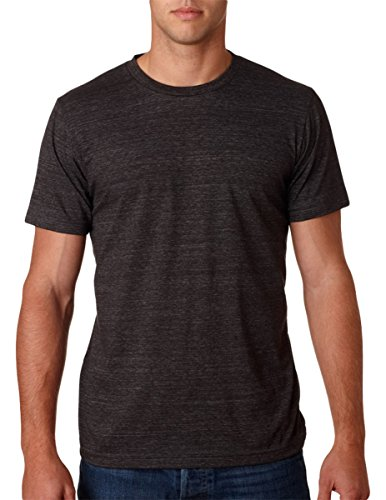Bella mens Unisex Triblend Short-Sleeve T-Shirt(3413C)-CHAR-BLACK TRIB-2XL by Bella