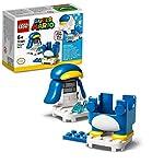 LEGO Super Mario Mario Pinguino - Power Up Pack, Espansione, Costume Scivolante, Giocattolo, 71384  LEGO