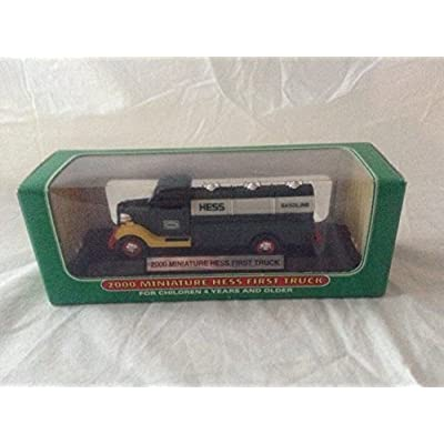 2000 Miniature Hess First Truck: Toys & Games