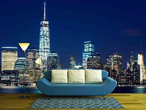 Manhattan Skyline at Dusk New York United States