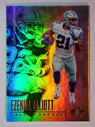 2017 Panini Illusions #2 Emmitt Smith/Ezekiel Elliott NM-MT Cowboys (Gift Delivery Dallas)