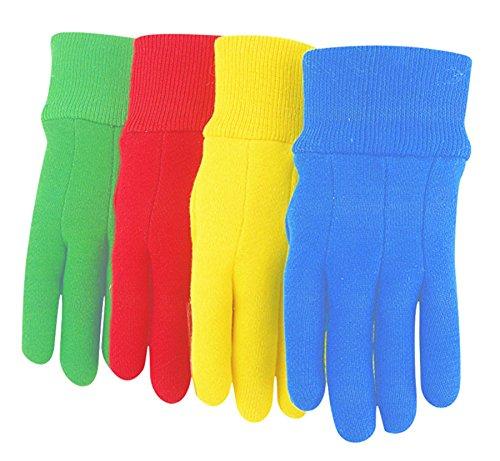 MidWest Gloves 537K-K-AZ-1 Cotton Jersey Garden Glove (144 Pair Pack), Assorted by Midwest Gloves & Gear