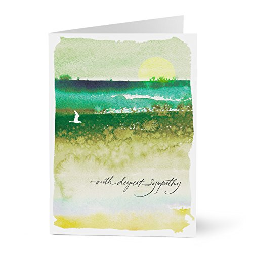 - Hallmark Business Sympathy Card for Employees or Customers (Bird in the Sunset) (Pack of 25 Greeting Cards for Business)