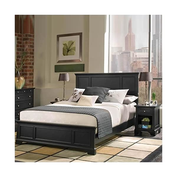 Home Styles 5531-5011 Bedford Queen Headboard and Nightstand