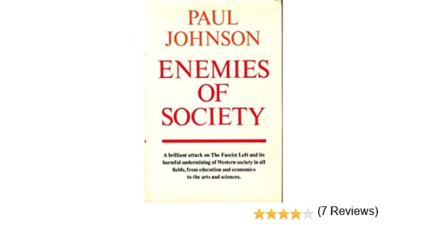 Enemies of society paul johnson 9780689107986 amazon books fandeluxe Images