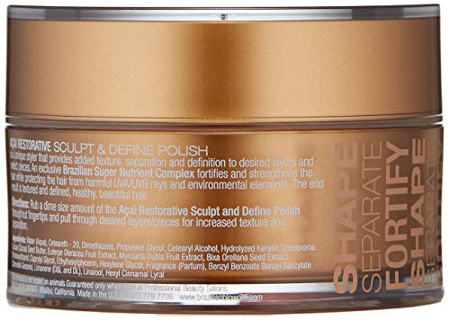 BRAZILIAN BLOWOUT Acai Restorative Sculpt Define Polish, 2 Fl Oz