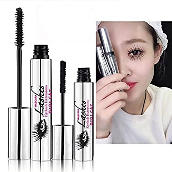 DDK 4D Mascara Makeup Lash Cold Waterproof Mascara Eye Black Eyelash Extension crazy long Style Warm