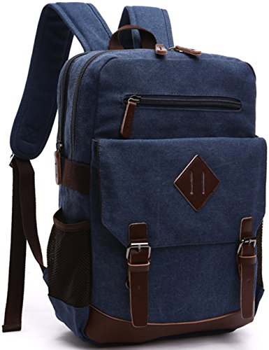 Aidonger Vintage Canvas Laptop Backpack product image