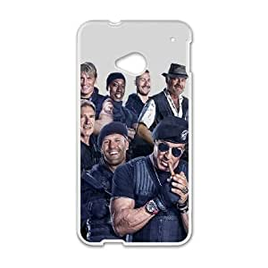 The Expendables HTC One M7 Cell Phone Case White