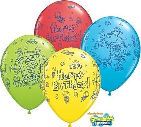Bob Esponja Bob Esponja y Amigos feliz cumpleaños 11 cm ...