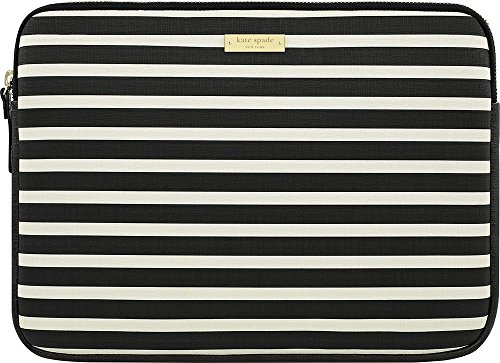 Kate Spade New York Zip Sleeve for Microsoft Surface Pro 3 and Surface Pro 4 - Black/Cream