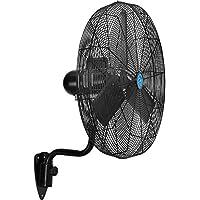 CD Premium 30 Oscillating Wall Mount Fan, TEFC Motor, 11,500 CFM, 1/2 HP