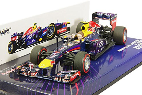 7ec2dc6a852 Minichamps 1 43 Scale 2013 Infiniti Red Bull Racing RB9 Wark Webber Last  Race Brazil