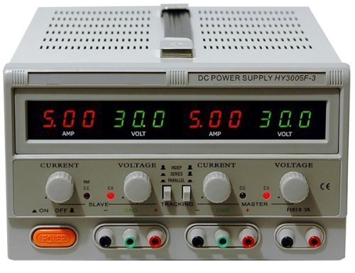 RSR DC Power Supply Variable Triple Output, HY3005F-3, 0-30V; 5A, LED Display