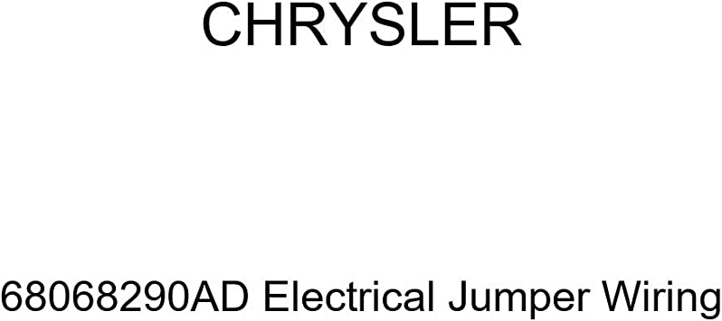 Genuine Chrysler 68068290AD Electrical Jumper Wiring