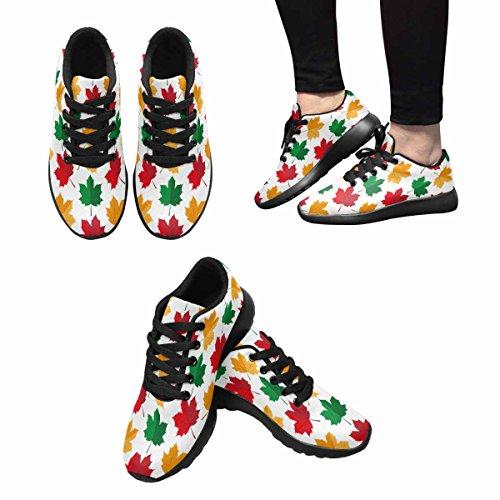 Interestprint Mujeres Jogging Running Sneaker Ligero Go Easy Walking Comodidad Deportes Running Zapatos Multi 13