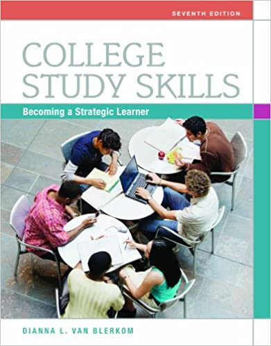 Amazon college study skills becoming a strategic learner ebook amazon college study skills becoming a strategic learner ebook dianna l van blerkom kindle store fandeluxe Choice Image