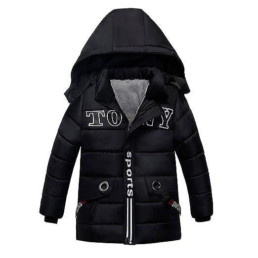 76d5fd82e294 Amazon.com  Mandy Toddler Boy Kids Winter Hoodies Outwear Overcoat ...