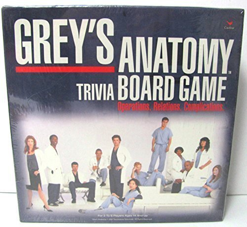 Grey's Anatomy Trivia Board Game by 5Star-TD