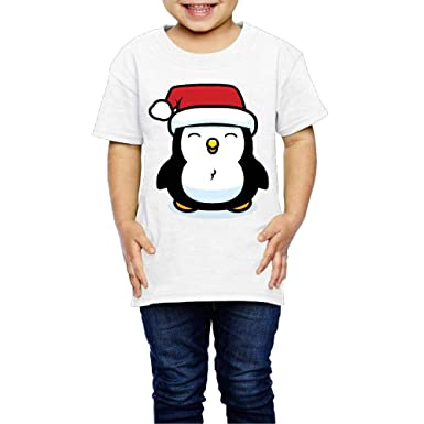 Amazon Com Cute Christmas Penguin Drawing Costume Infant Kids Crew