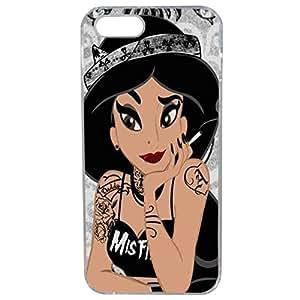Lapinette COQUE-5G-JASMINE - Funda para Apple iPhone 5/5s, diseño Princesa Disney Tatuada 10