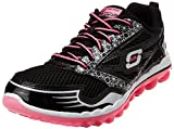 Skechers Skech Air 2.0 Clear Day Womens Sneakers Black/Hot Pink 8