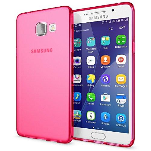Slim Shockproof Case for Samsung Galaxy A5 (Pink) - 8