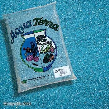 Aqua Terra Sand 5lb - Light Blue (6pc) by World Wide Imports