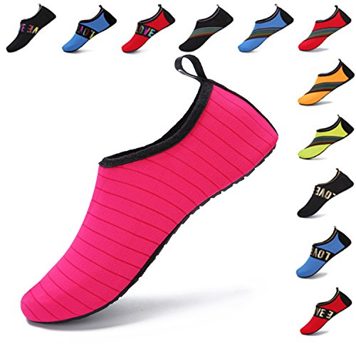 Womens Mens Barefoot Socks Dry Yoga Aqua Water Quick Surf WXDZ Pool Swim Rose Shoes Beach For 1g4wgx