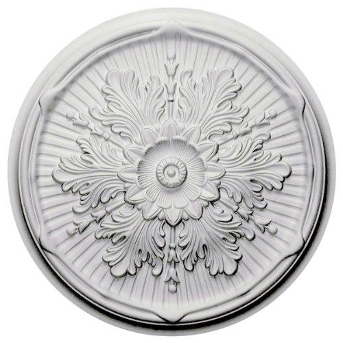 Price comparison product image Ekena Millwork CM21LU 21-Inch OD x 2-Inch ID x 2-Inch P Luton Ceiling Medallion