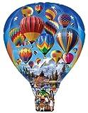 hot air balloon puzzle - Hot Air Balloon Ride Big Shaped 500 Piece Puzzle