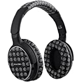 Over Ear Wireless Bluetooth Headphones with APTX, Mixcder Ghost HiFi Stereo Noise Cancelling Headsets with built-in Mic, 20-Hour Playtime Hands Free Headband for iPhone, Samsung Smartphone