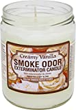 Fujima USA Odor Exterminator Candle Creamy Vanilla 13oz by Smokers Candle