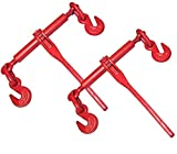 2 Ratchet Chain Load Binder 3/8'' - 1/2''