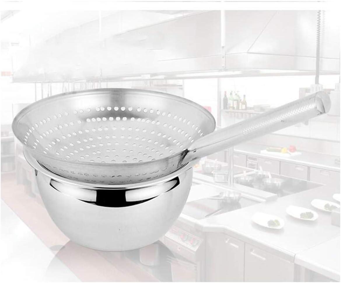 Küche Abseihlöffel Edelstahl Schöpflöffel Entfernen von Fett und Schaum L