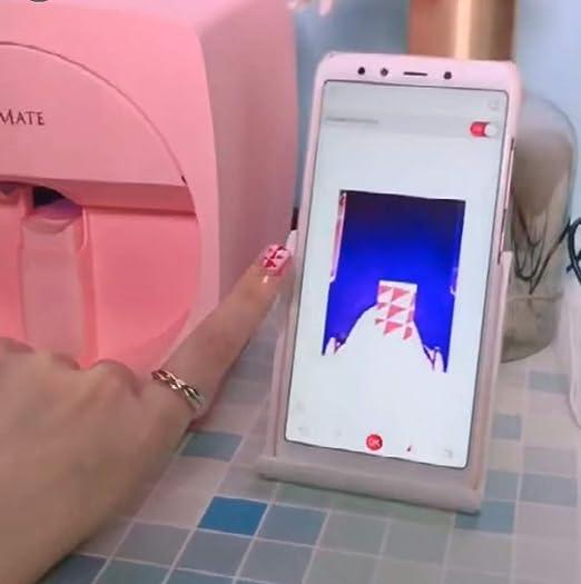 Amazon.com: Manicura móvil para impresora de uñas, máquina ...