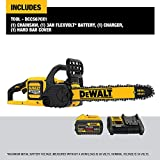 DEWALT FLEXVOLT 60V MAX Chainsaw Kit, 3-Ah