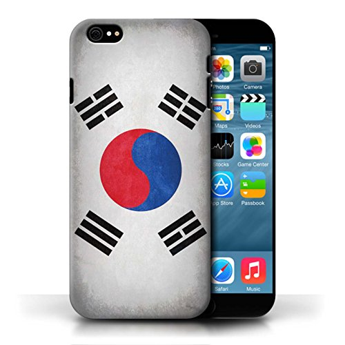 Etui / Coque pour Apple iPhone 6/6S / Corée/coréen conception / Collection de Drapeau