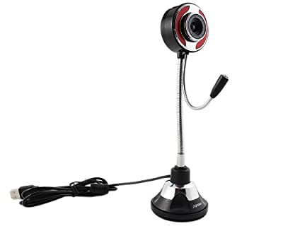 SANOXY Flexible 5.0 Megapixel USB PC Camera Webcam with Microphone