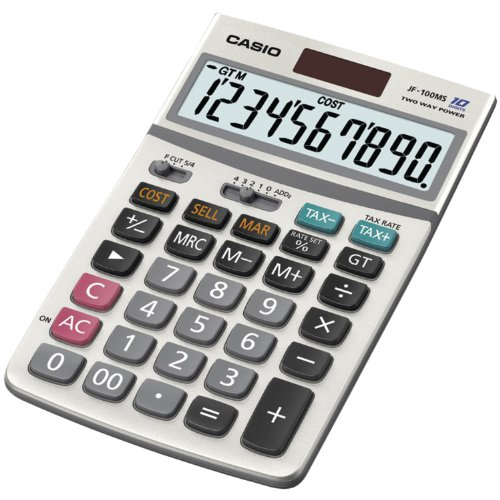 Casio Inc. JF-100BM Standard Function Calculator