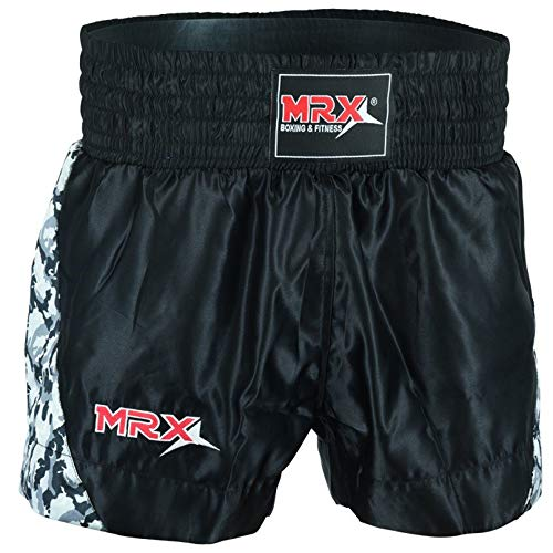 MRX Men's Muay Thai Training Fighting Shorts Boxing MMA BJJ Short Kickboxing Trunks Clothing