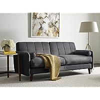 Serta Savanna Collection 73 Sofa in Slate Gray