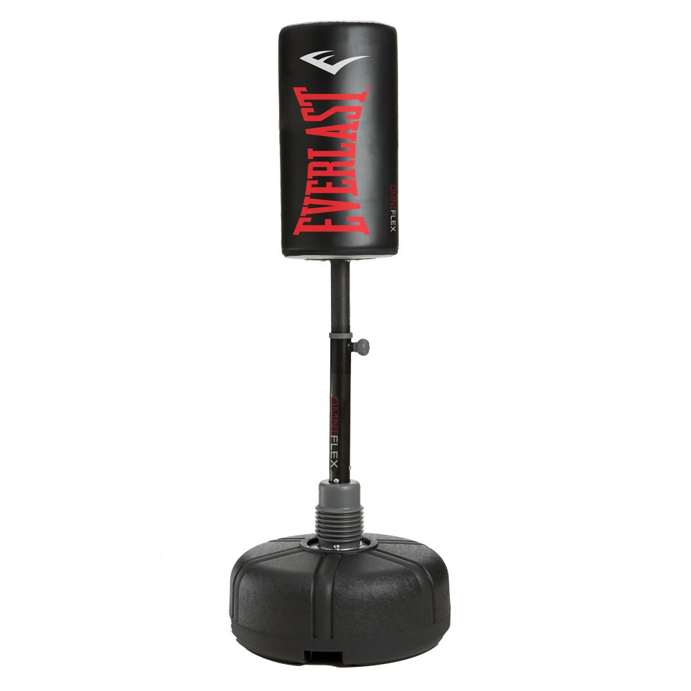 Everlast Omniflex Freestanding Heavy Bag, Black Red, 67''
