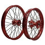 FidgetFidget for Honda CR 125 250 CRF 450R 250R 19'' Dirt Bike Off Road Motorcycle Wheels Assembly