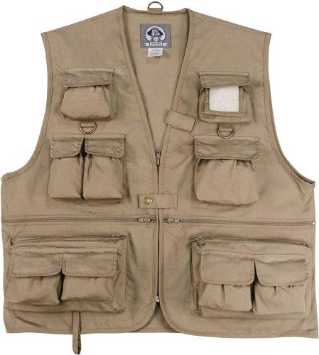Uncle Milty Khaki Travel Vest - 4