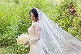 Mantilla Lace Wedding Veil | Beaded Lace