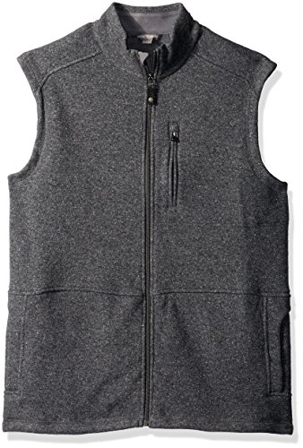 Royal Robbins Men's Dolomites Sweater Fleece Vest Sweater, Pewter, X-Large